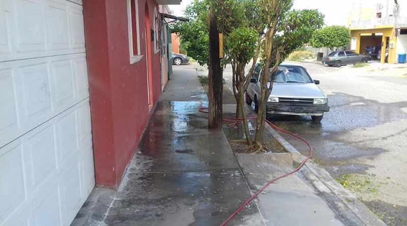 Aplica SAPA La Paz 470 multas mensuales por desperdicio de agua