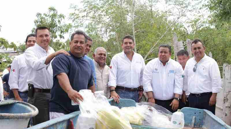 Arranca programa de empleo temporal para pescadores libres del golfo de Ulloa