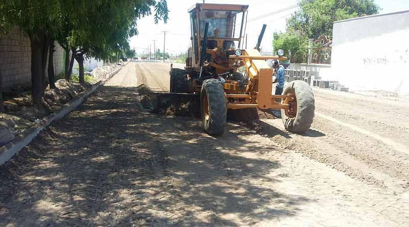 """Verifica SEPUIT el estado de las obras de pavimentación tras el paso de """"NEWTON"""""""