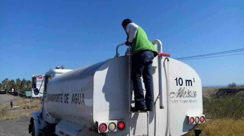 Cloración de agua y saneamiento básico son prioridades de salud en Mulegé tras paso de NEWTON