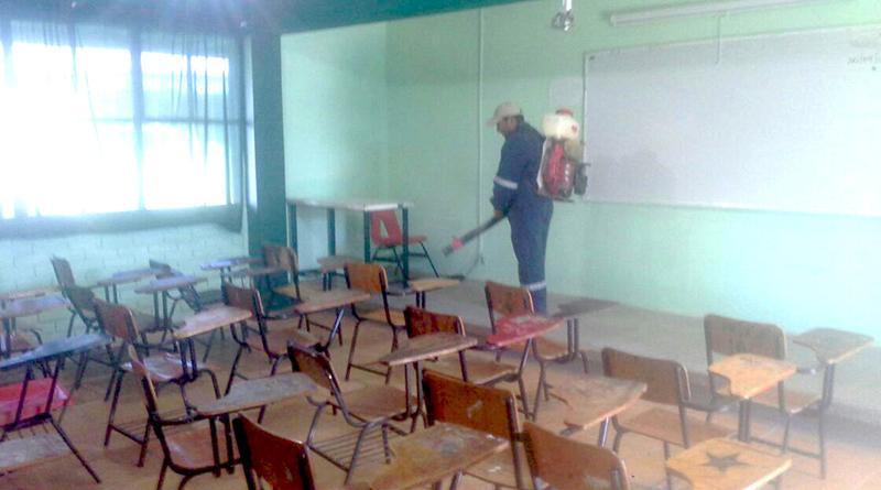 Concluyeron fumigaciones en escuelas de Comondú