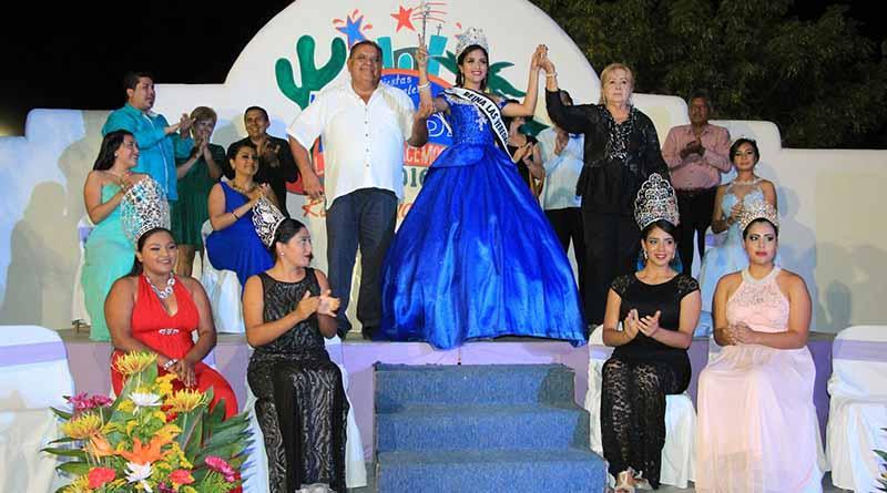 """""""Yamileth I"""" Reina de las Fiestas Tradicionales Las Veredas 2016"""