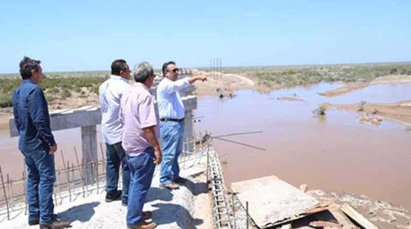 Pide Alcalde, Francisco Pelayo no Arriesgarse a Cruzar Arroyos