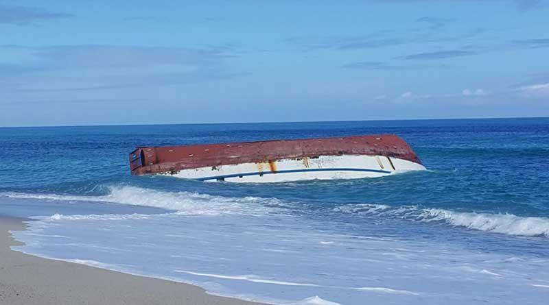 Falla nuevo intento por rescatar cuerpo de tripulante de camaronero hundido