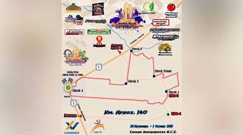 Carrera de Domi-Run en 61 Aniversario de Cd. Insurgentes