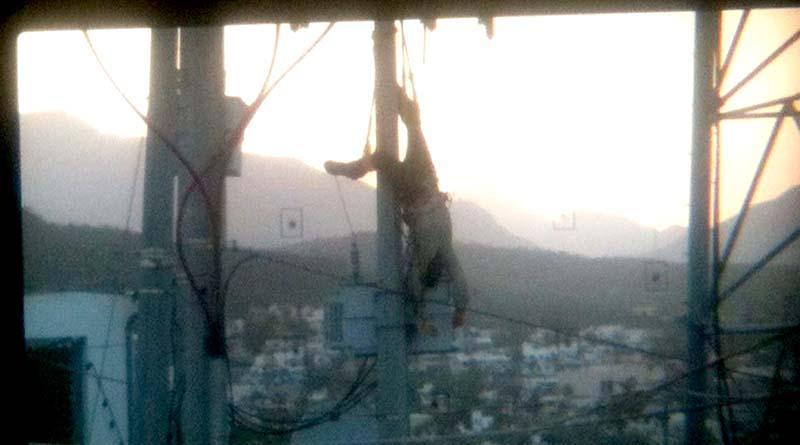 Muere electrocutado trabajador en el Cerro de la Cruz