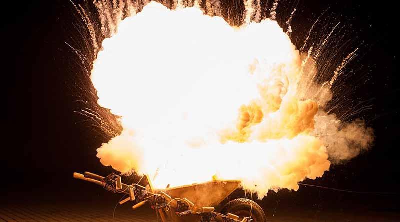 Durante fiestas patrias se duplican casos de quemaduras por cohetes