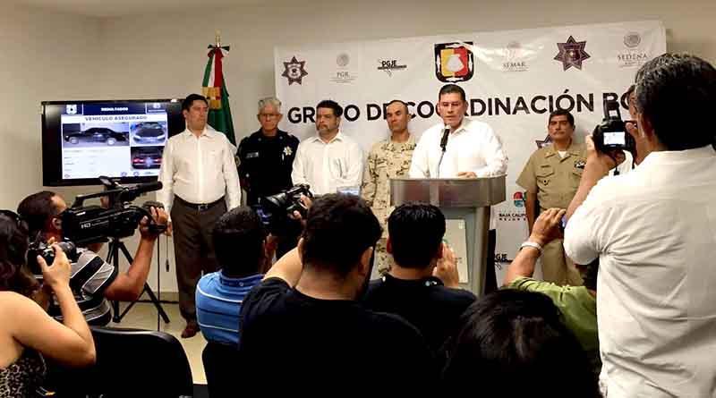 Capturan a presunto líder del narcomenudeo del sur de La Paz y su mano derecha