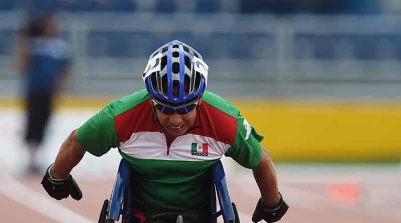 Mexicano Salvador Hernández logra bronce en 100 metros T52
