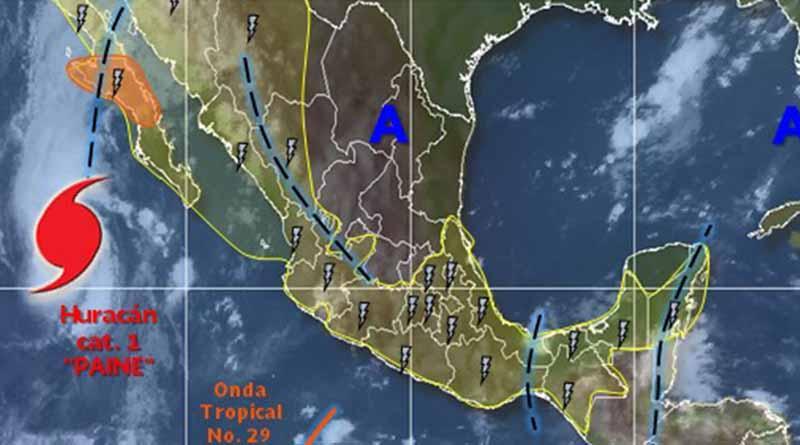 Paine se debilita a tormenta tropical