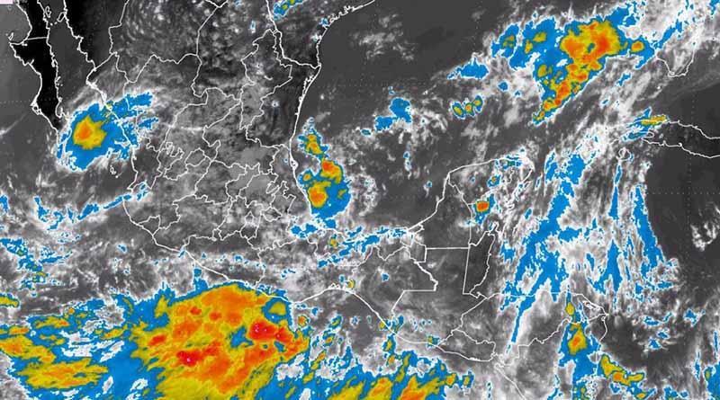Alertan sobre posible formación de ciclón tropical en el Pacífico