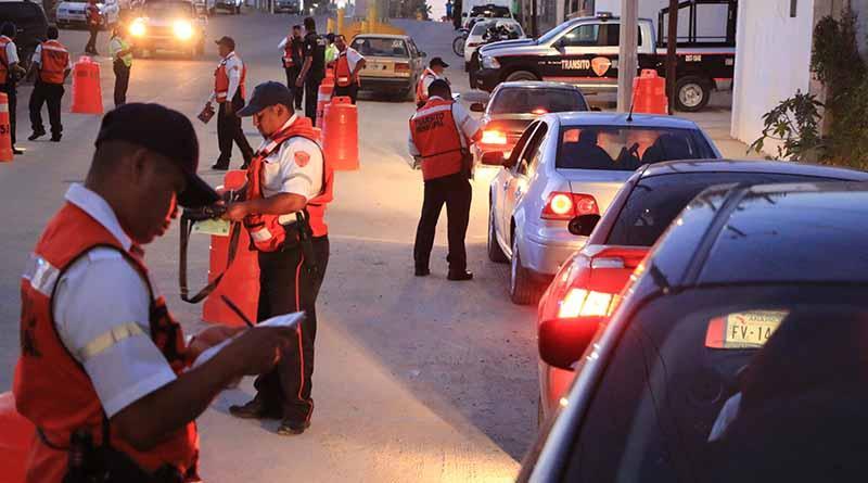 Reactiva seguridad pública de los Cabos, operativos ¨conduce sin alcohol, salvando vidas¨