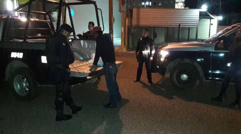 Sujeto que portaba marihuana y cartuchos de grueso calibre es capturado por el Mando Mixto