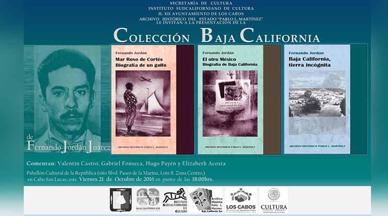 Se invita a la ciudadanía a la presentación de la colección de Baja California