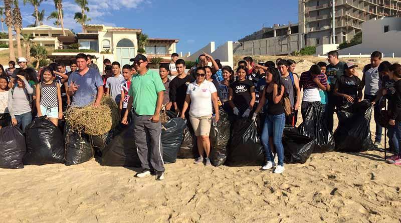 Se realizó jornada limpieza en las playas de los Cabos