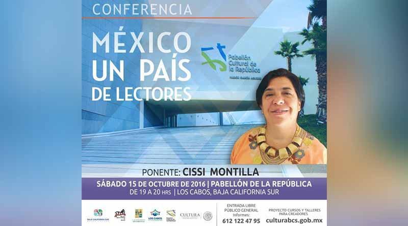 """Ofrecerán conferencia """"México un País de Lectores"""""""