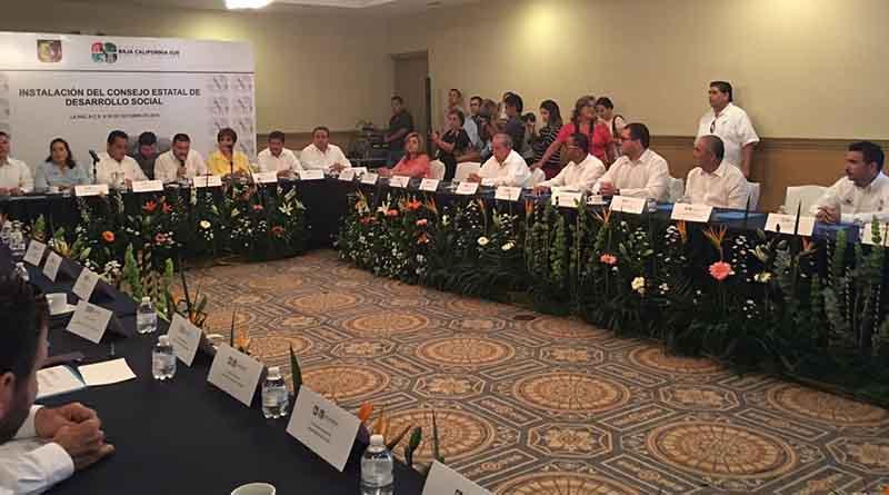 Presente Gobierno Municipal en la instalación del Consejo Estatal de Desarrollo Social