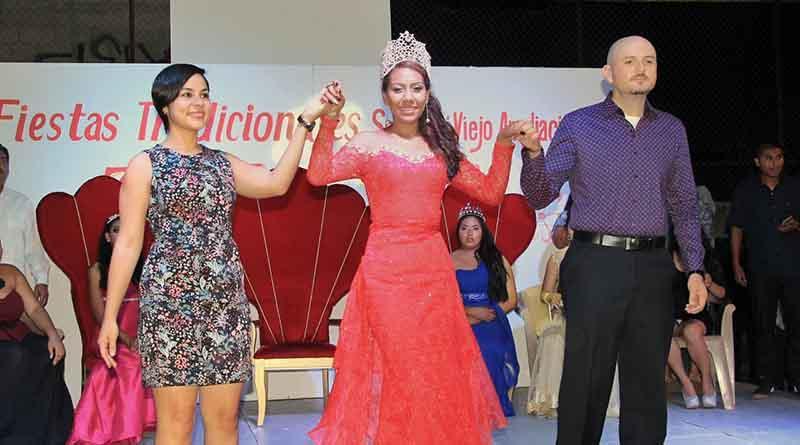 """""""Zayra I"""" coronada reina de las Fiestas Tradicionales San José Viejo Ampliación 2016"""