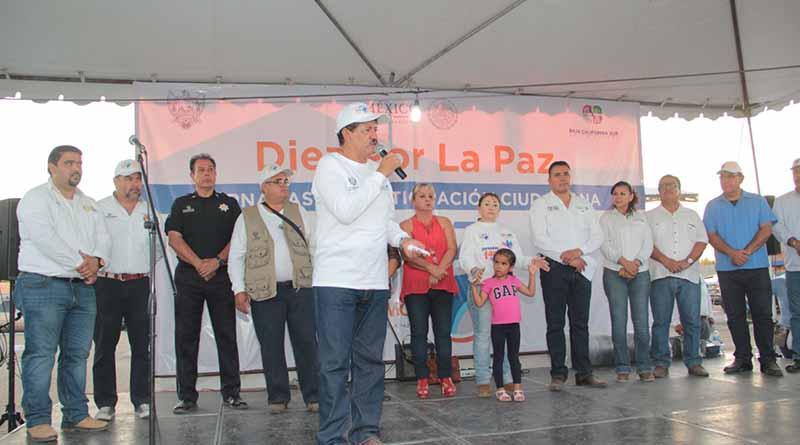 """Realizan Segunda Jornada de Participación Ciudadana """"Diez Por La Paz"""""""