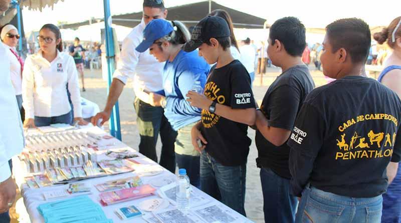 """Instituto Municipal de la Juventud fortalece acciones en temas de prevención  *En el marco de la Jornada  """"Diez Por La Paz""""."""
