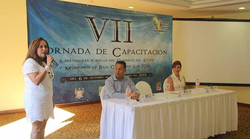 Participan servidores públicos en la VII Jornada de capacitación en la aplicación de recursos federales