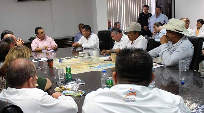 Exhorta Alcalde Francisco Pelayo a Colaboradores a Redoblar Esfuerzos