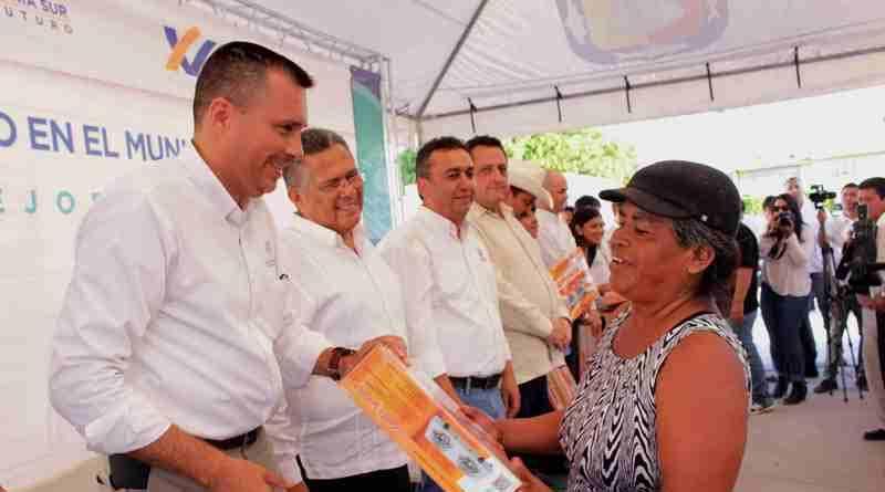 Mejor calidad de vida para las familias de la entidad; SEDESO