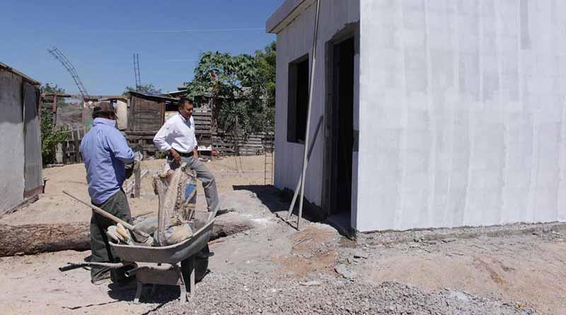 Supervisa SEDESO construcción de recámaras adicionales en La Paz
