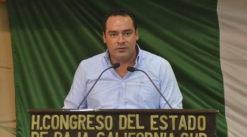 Baja California Sur va por el rumbo correcto: Dip. Sergio García