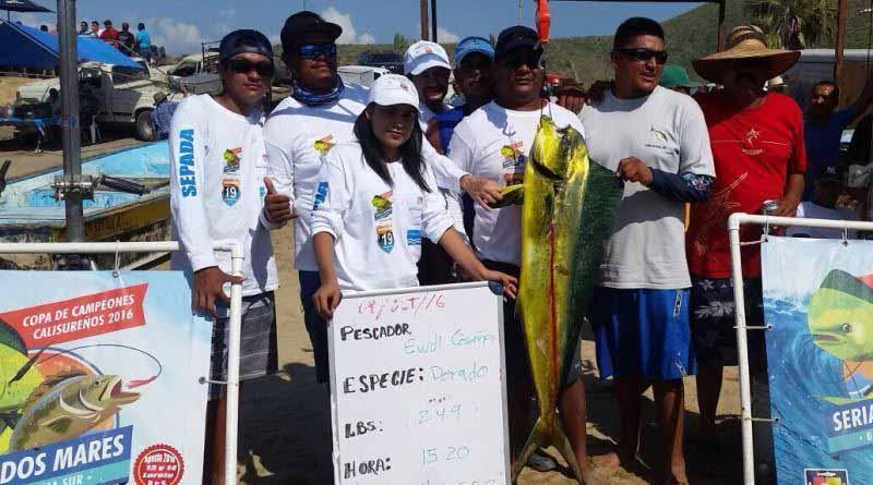 Con éxito se llevó a Cabo el primer torneo de pesca deportiva punta Lobos 2016