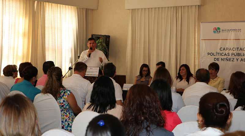 La protección a niños, niñas y adolescentes, prioridad para el estado de BCS: Álvaro de la Peña Angulo