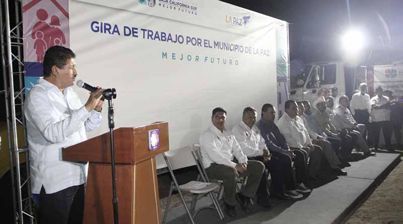 Gobierno Municipal y Estatal suman esfuerzos en beneficio de las familias de La Paz