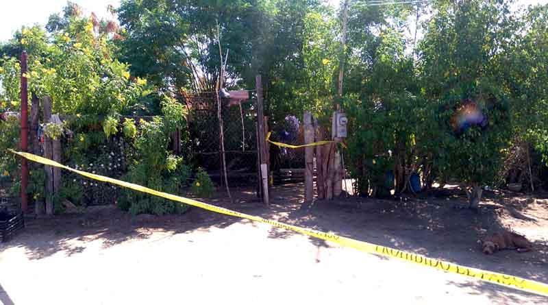 Mujer dispara cuerno de chivo contra sujeto en la colonia Diana Laura de La Paz