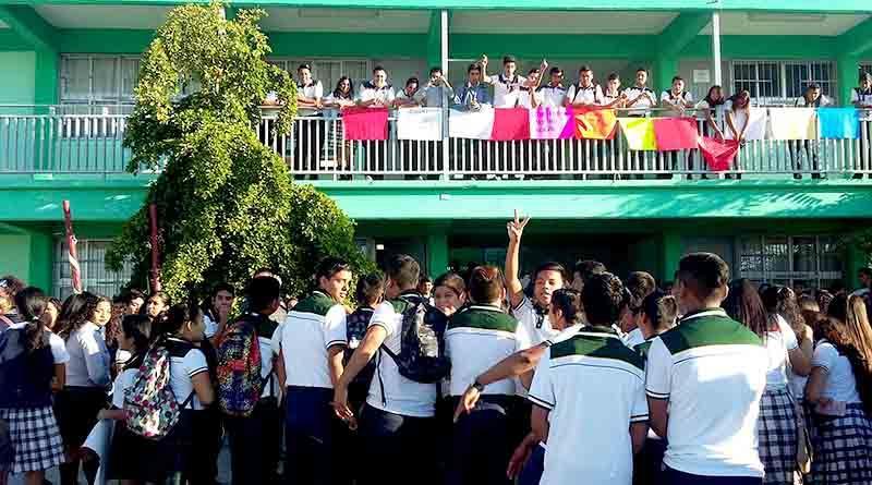 Además de reconstrucción de Conalep Primero de Mayo, alumnos piden mejoras en el plantel Pueblo Nuevo