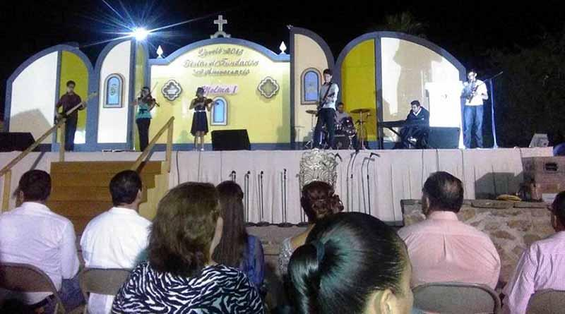 Comondú Presente en Fiestas de Fundación de Loreto