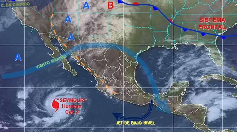 Huracán Seymour se intensificó a categoría 3; no afecta al país