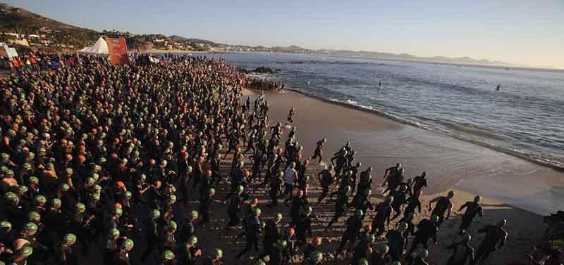 Se esperan unos 2 mil atletas en el IronMan Los Cabos 2016