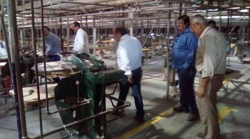 Recorren Empresarios de Sonora e Hidalgo  Maquiladora de Ciudad Constitución