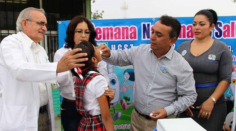 Pone en marcha el alcalde, Francisco Pelayo la Tercera Semana Nacional de Salud 2016