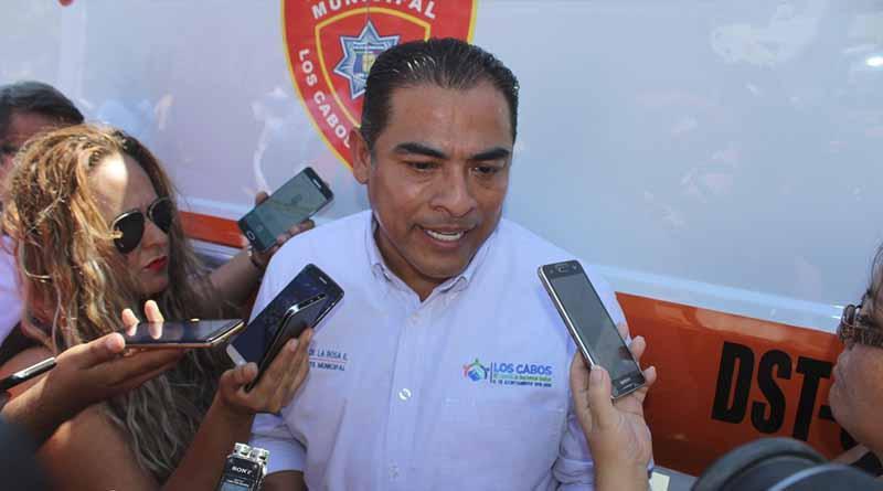 Suma de esfuerzos para blindar a Los Cabos contra la inseguridad: Alcalde