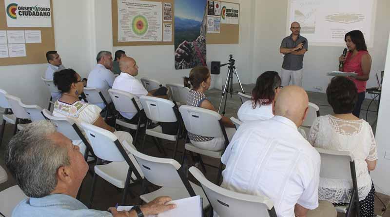 A punto de concluir el Observatorio Ciudadano el Diagnóstico Uno que calificará a la administración municipal: Elías Gutiérrez