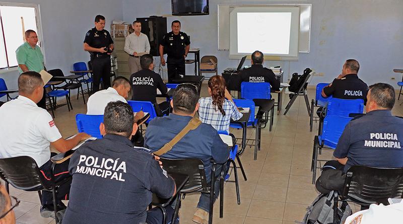 Continúa Seguridad Pública de Los Cabos con la capacitación del idioma Inglés a policía turística