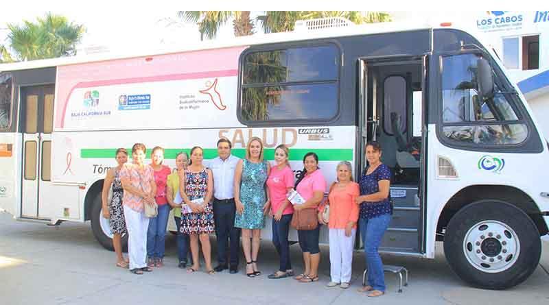Ofrece DIF y secretaria de salud mastografias gratuitas a mujeres de Los Cabos