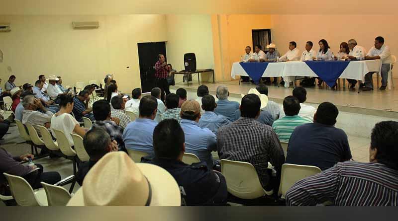 Autoridades federales, estatales y municipales se reúnen para brindar solución a ganaderos