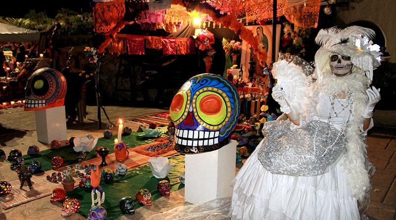 Gobierno municipal e instituto de cultura y las artes, promueve día de muertos