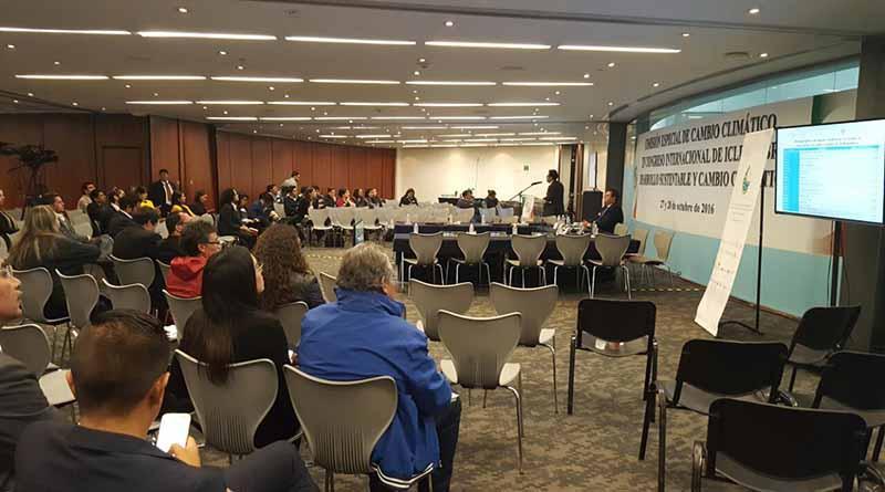 Gobierno municipal  presente en el congreso internacional de ICLEI