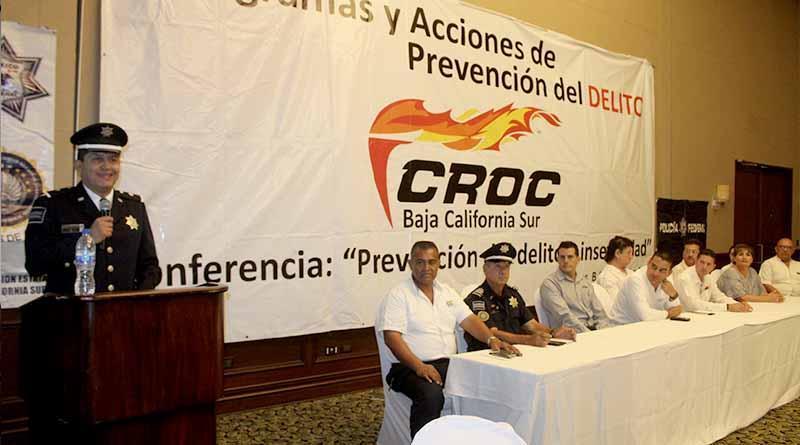 Da conferencia PF a croquistas sobre prevención del delito