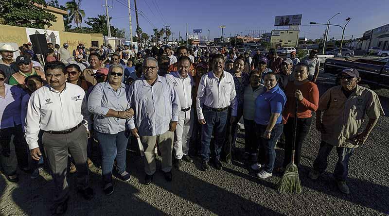 Inicia el Programa Emergente de Barrido Manual en La Paz