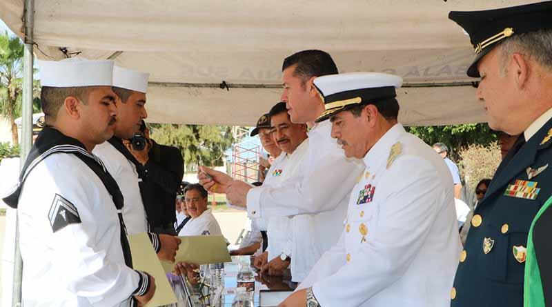 Reconoce Gobierno del Estado labor de Armada de México en BCS: APA