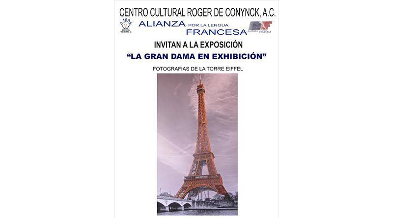 """Exposición fotográfica """"La Gran Dama de exhibición"""" de Gustave Eiffel estará en la Alianza Francesa de La Paz"""